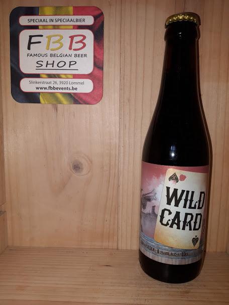 Wild card sour 100% foeder   Famous Belgian Beer